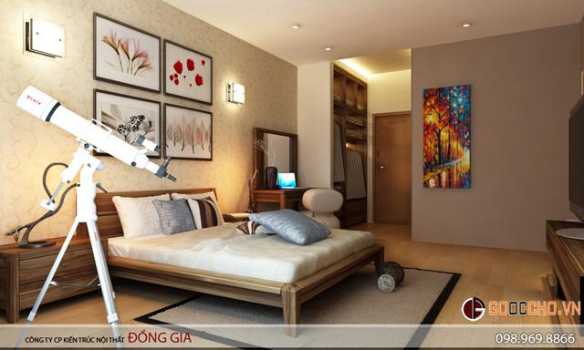 nội thất chung cư mandarin