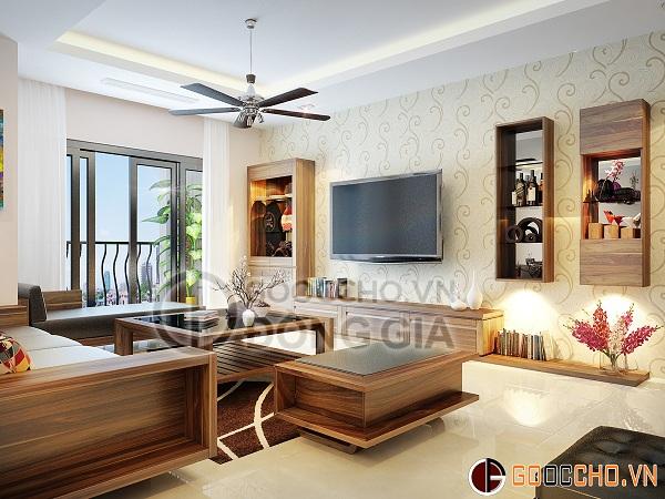 Thiết kế nội thất chung cư Thăng Long number One -4